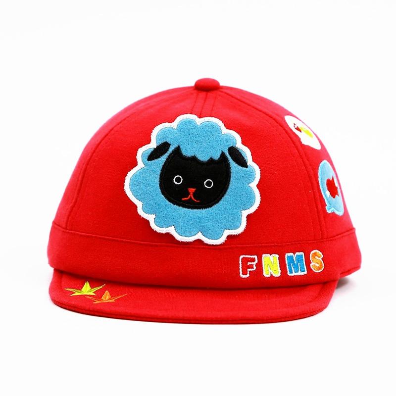 动物鸭舌帽 可爱卡通纯棉宝宝帽子