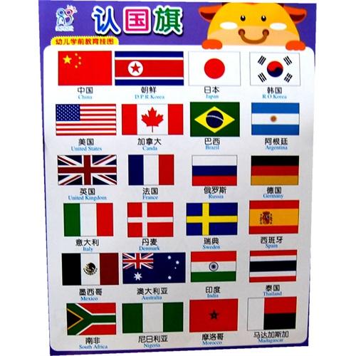 认标志认国旗 高清图片