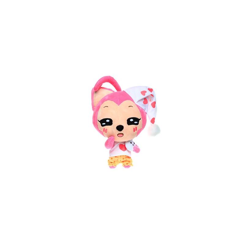 正版正品阿狸公仔毛绒玩偶晚安狸桃子款毛绒玩具毛绒公仔娃娃创意.