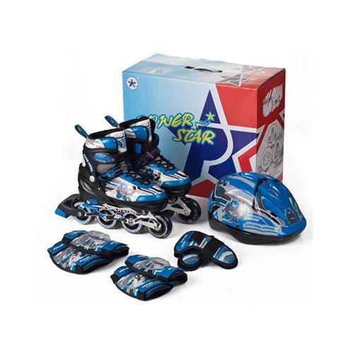 轮滑鞋儿童套装 旱冰鞋