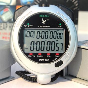 倒计时田径比赛时钟双排电子秒表跑步定时器专业