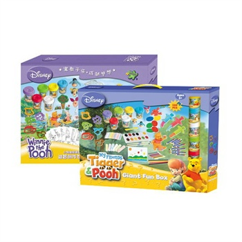 迪士尼/Disney 迪士尼DIY系列 小熊维尼造型大娱乐盒买一赠一装
