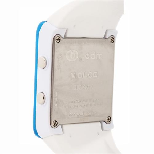 odm运动手表led多功能定时器电子表白色情侣腕表dd120