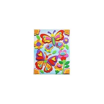 海绵纸手工制作蝴蝶