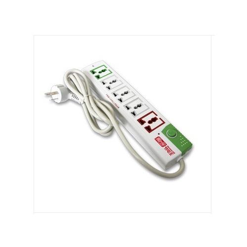 *节电插座pc105y接线板开关面板插线板5孔三角插座