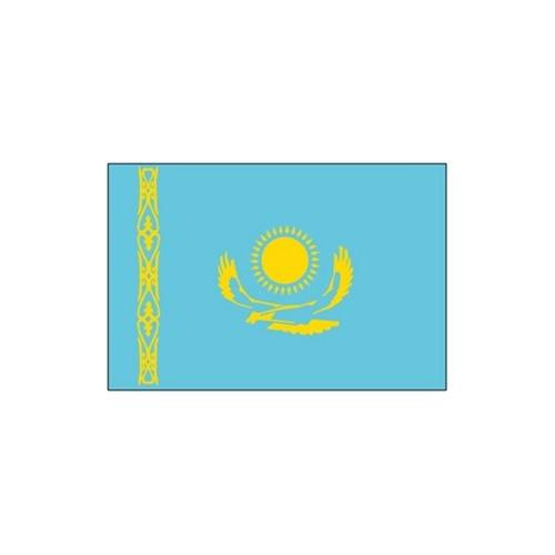 旗帜 三号哈萨克斯坦旗 192cm 128cm 外国图片