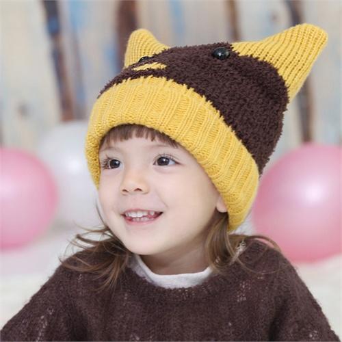公主妈妈儿童冬季帽子