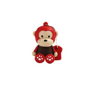 oae 卡通猴子16gu盘 可爱创意坐姿猴u盘16g优盘迷你