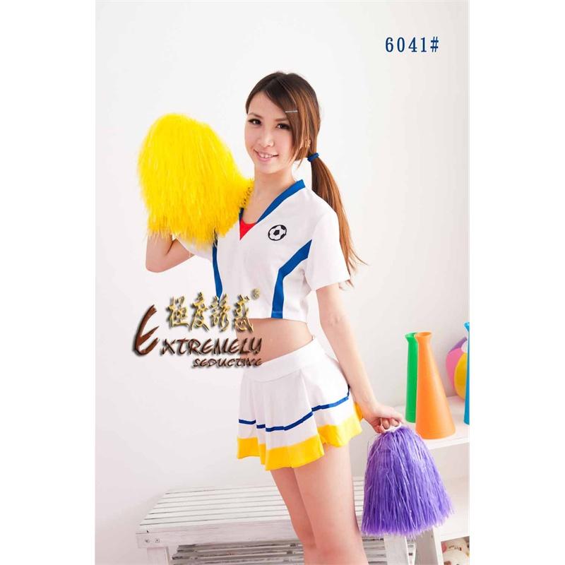 台湾极度诱惑 清纯足球宝贝装 新款6041