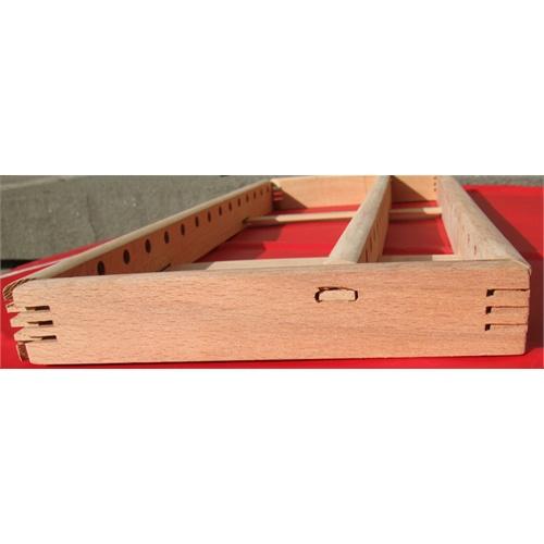 好吉森鹤diy手工算盘制作13档老式木制算盘 珠算 珠心算散件自己动手