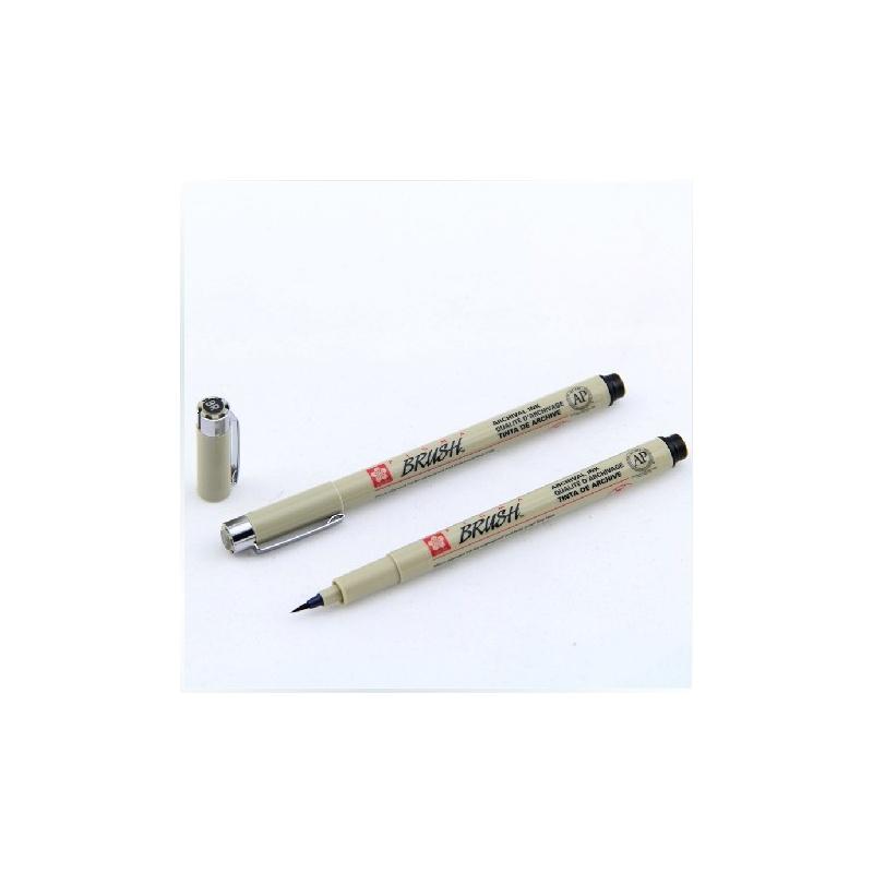 樱花软头针管笔