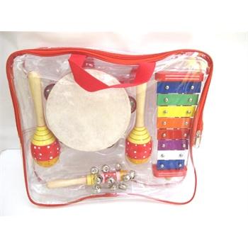 儿童 打击乐 小玩具 音乐乐器 幼儿园教具 4件套装 tz4a超值选择 送
