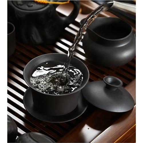 实木茶盘茶壶茶杯货