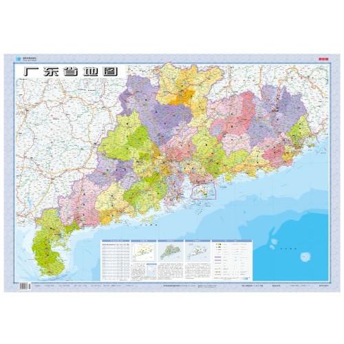 85万广东省地图