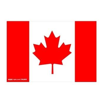 旗帜 三号加拿大旗 三号加拿大国旗 192cm*128cm 3号 外国