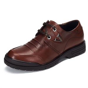 Maigao麦高男士皮鞋 都市安逸牛皮系带商务鞋 时尚运动休闲鞋M0623372-1