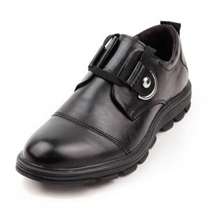 Maigao麦高皮鞋 时尚潮流牛皮商务休闲鞋 优雅系带正装真皮绅士男鞋MD18731-1