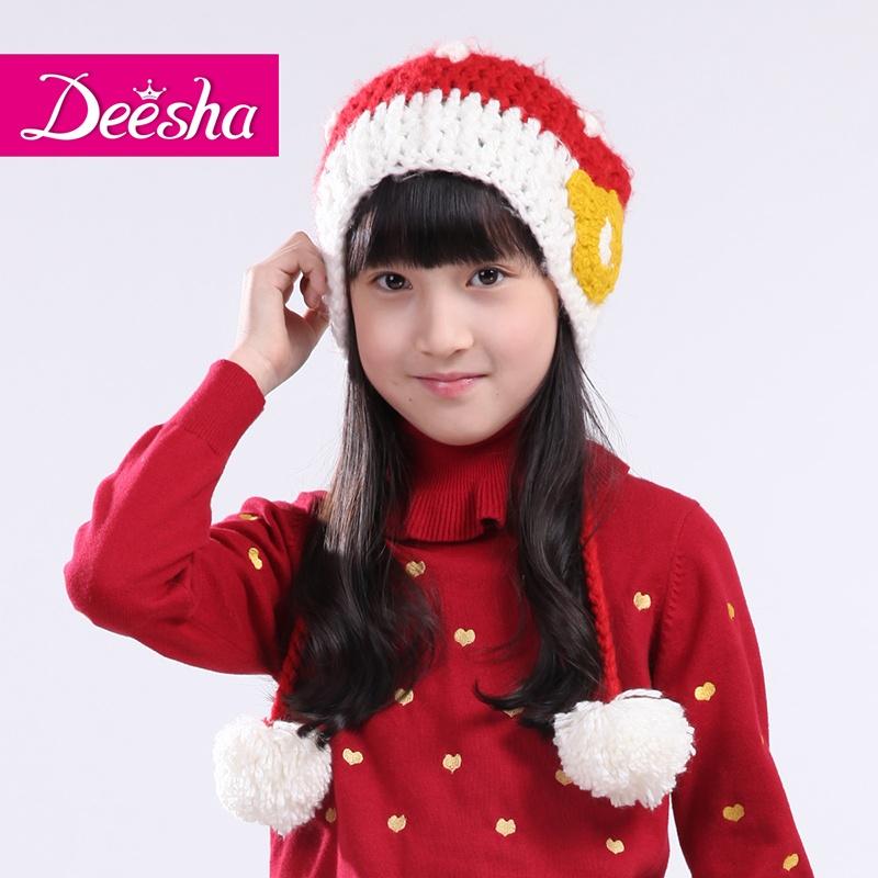 【笛莎帽子/手套/围巾/耳罩】deesha笛莎纯手工编织