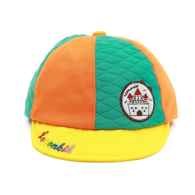 儿童帽子 三角巾 韩国春秋冬季新款可爱宝宝遮阳鸭舌帽 婴幼儿纯棉