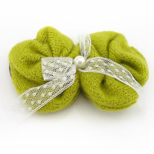 毛线编织拖鞋图案蝴蝶