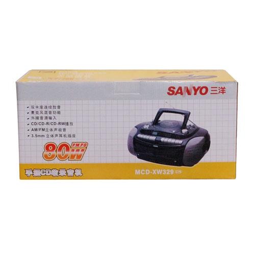 三洋 收录机 MCD XW329
