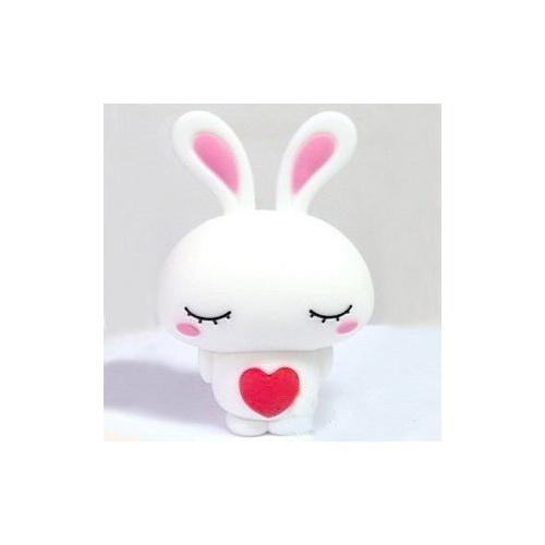 可爱红心兔子u盘 情侣u盘