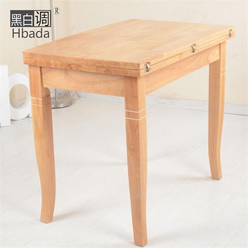 欧式餐桌子/可折叠进口实木时尚简约环保吃饭桌子