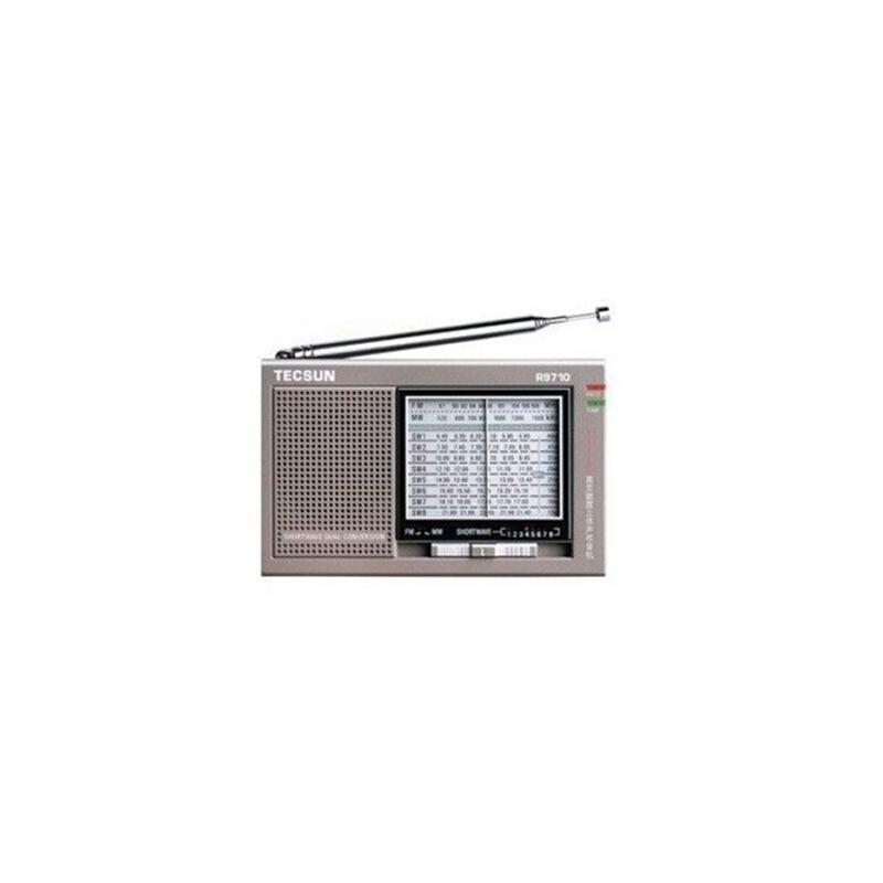 德生r-9710收音机 高灵敏度全波段立体声收音机,二次变频