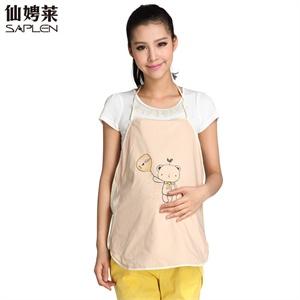 仙娉莱孕妇装夏装新款时尚孕妇防辐射肚兜610431