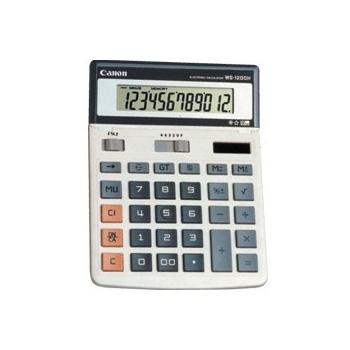 佳能WS-1200H计算器佳能计算器WS-1200HCANON计算器