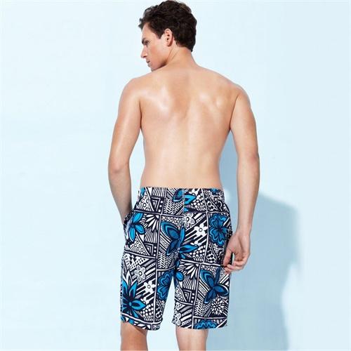 夏威夷风男士休闲沙滩裤