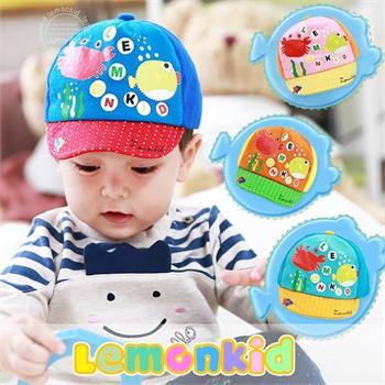 2014春秋冬季新款可爱儿童帽子 纯棉宝宝帽 男女孩子婴儿海洋动物布帽