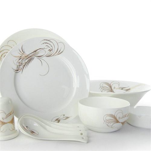 丝鸟餐具景德镇陶瓷