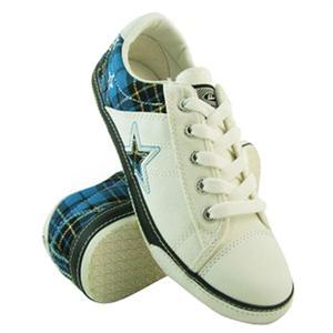 回力鞋 上海回力新款女式休闲鞋 WXY 2116 蓝白 时尚简约