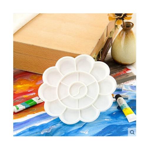 优质大梅花调色盘 调色板 水粉 水彩 丙烯 手绘 纺织颜料用