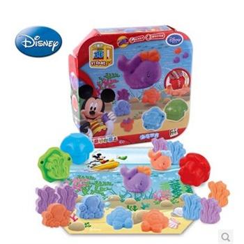 迪士尼3d打印泥海底世界 超轻粘土橡皮泥无味不干 3d彩 泥 1310玩具