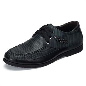 Maigao麦高男士皮鞋 2014新款时尚系带头层牛皮日常休闲皮鞋M8523021