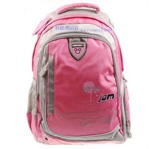 儿童书包 2011新款迪士尼女孩书包 中学生肩背书包m9030粉绝对正品图片
