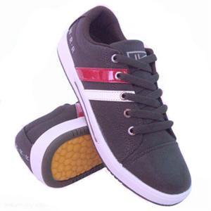 回力鞋 上海回力男式新款休闲板鞋 散热透气 舒适耐磨 棕色时尚款 运动