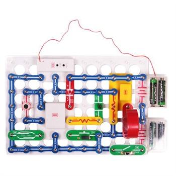 电子积木电路图图片