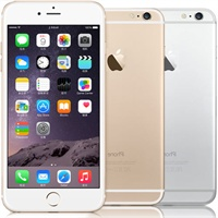 【苹果专卖】iPhone6 16G 4.7英寸 公开版A1586全网通 移动/联通/电信(4G/3G/2G)三网通用 智能手机(指纹识别 A8芯片 iOS8 4.7英寸Retina高清屏 800万摄像头)