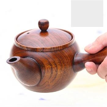 【自然的风茶具】木制茶壶