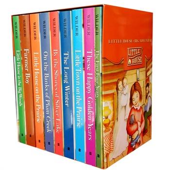 house小木屋的故事系列9本盒装