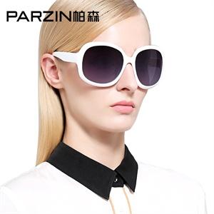 PARZIN帕森女士优雅气质百搭明星款大框加厚驾驶偏光太阳眼镜