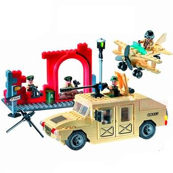 启蒙拼装玩具 乐高式儿童益智积木