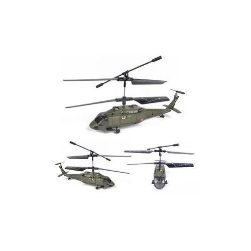 司马黑鹰遥控直升机飞机 金属机架 3通道红外线 s013升级s102g了
