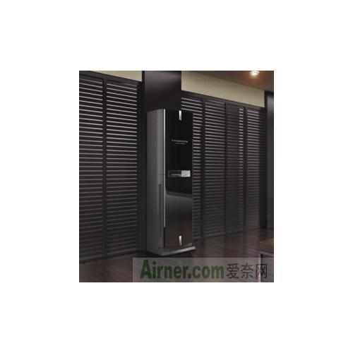 北京-三菱电机空调新冷媒直流变频2p柜机mfz-pxe50va高端豪华黑色变频