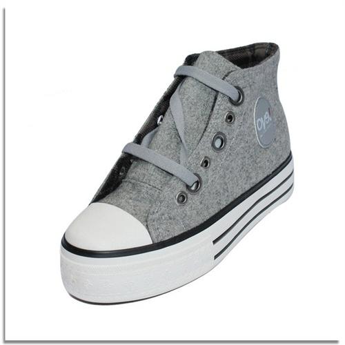 帆布鞋加厚底增高鞋单鞋