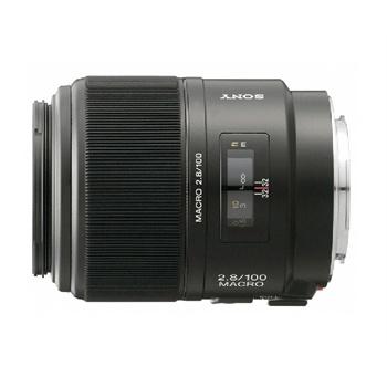 Sony 100mm f / 2.8 macro fixed focus lens