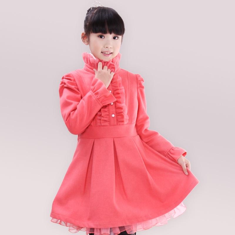 季宫廷风儿童裙子
